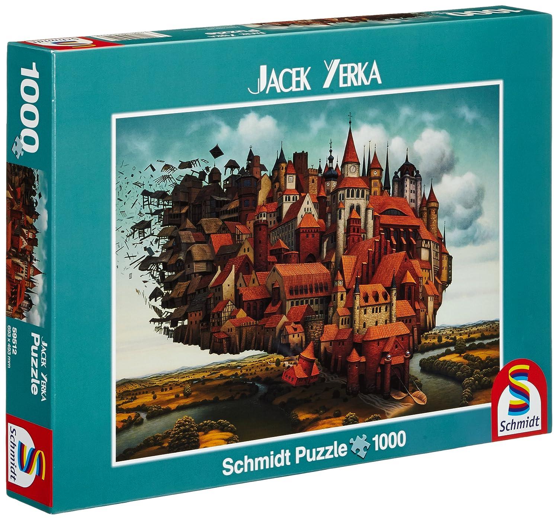 Schmidt Spiele 59512 - Puzzle - fliegende