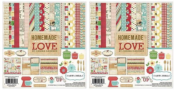 Echo Park Paper Company CB-HL23016 Homemade with Love kit (?wo ?ack, Original Version) (Color: Original Version, Tamaño: ?wo ?ack)