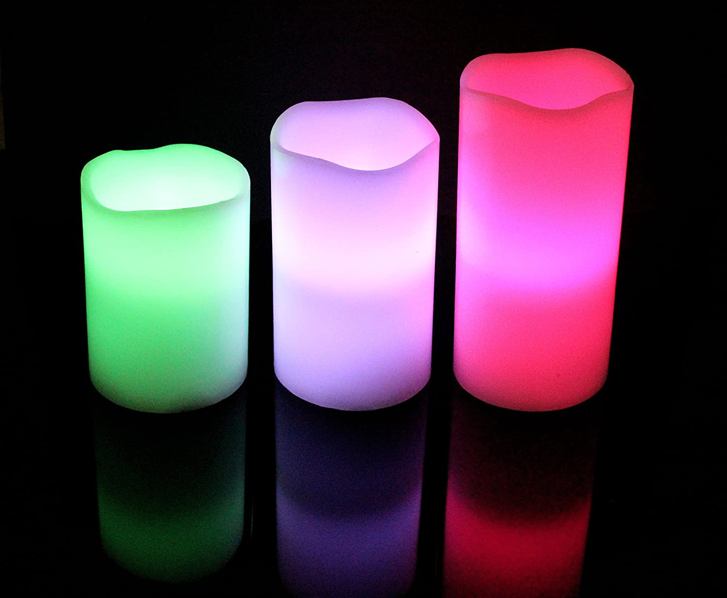 Remote-control Color-changing LED Candles