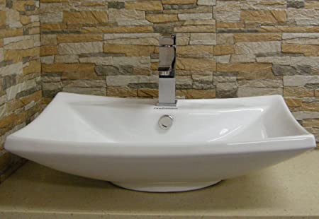 New Ceramic Modern Bathroom Vessel Sink