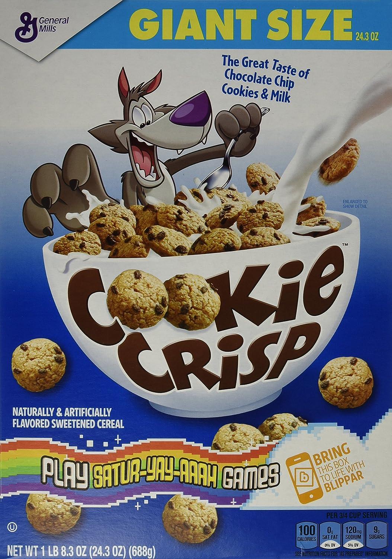 General Mills Cereals Cookie Crisp, 24.3 Ounce