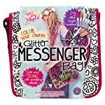 Just My Style Just My Style Glitter Messenger Bag Art and Craft, Multi Color