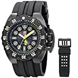 Luminox Men's 1526 Scott Cassell Specials Analog Display Swiss Automatic Black Watch (Color: black)