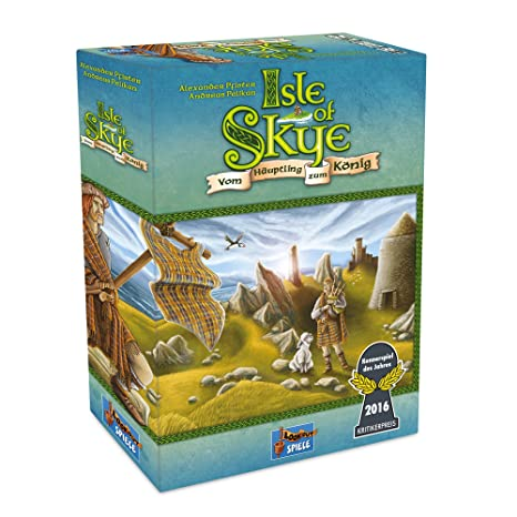 Lookout Games 22160078 – Isle of Skye Jeux
