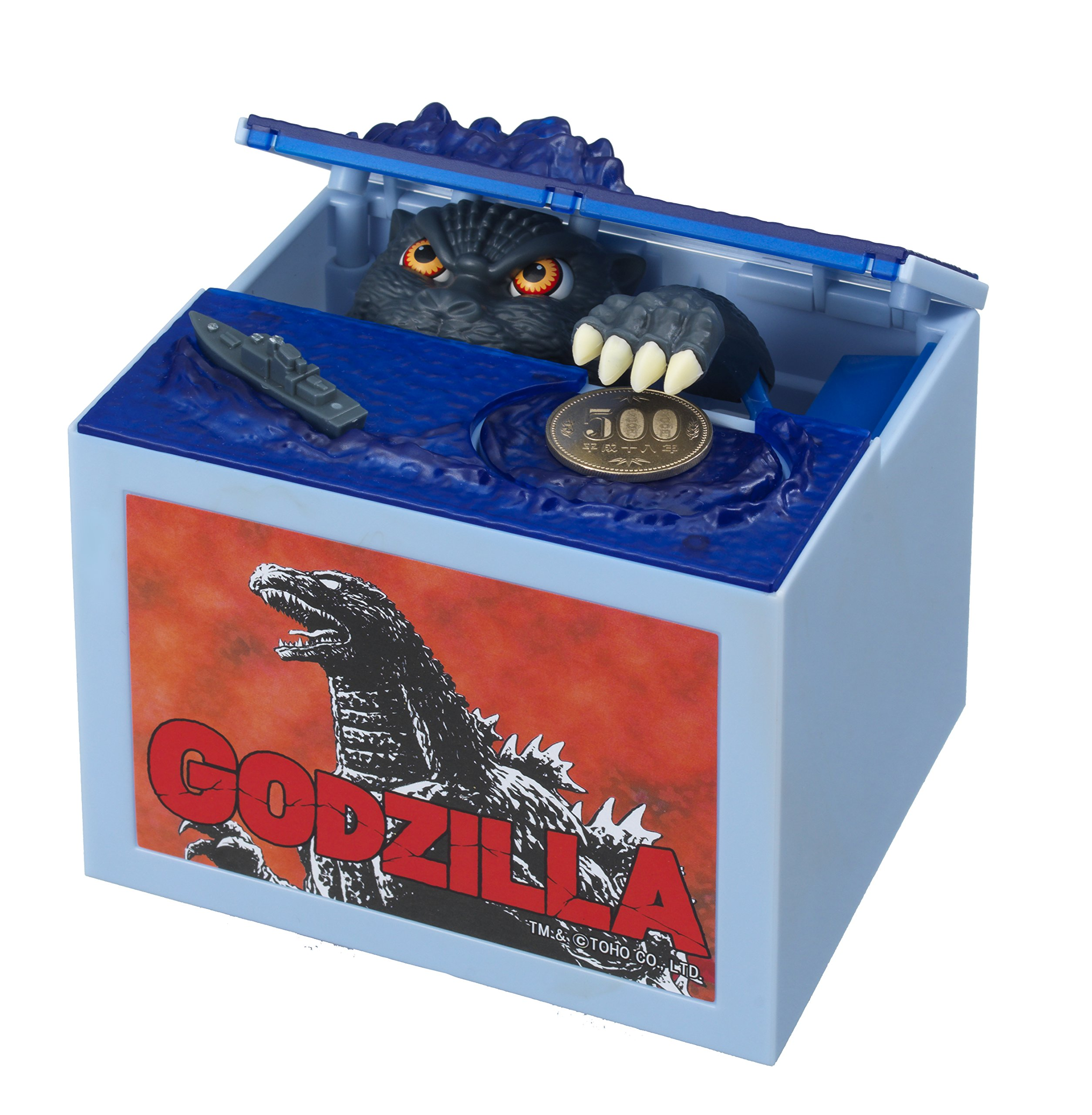 Godzilla Monster Piggy Bank