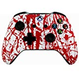 Xbox One Soft Touch Design Custom Gaming Controller -Soft Shell for Comfort Grip X for Microsoft Xbox 1 (Blood) (Color: Blood)