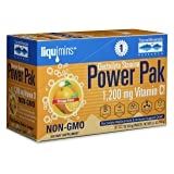 Trace Minerals Electrolyte Stamina Power Pak Non-GMO, Orange Blast, 30 Count