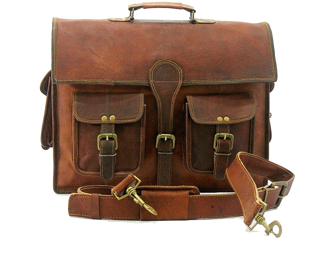 Handmade_ world leather messenger bags for men women mens briefcase laptop bag best computer shoulder satchel bag 0