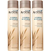 3-Pack Aveeno Nourish + Moisturize Conditioner 10.5 Ounce