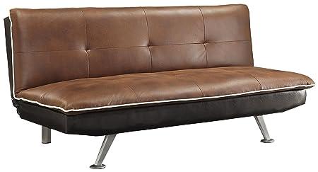 Brown Microfiber Sofa Bed