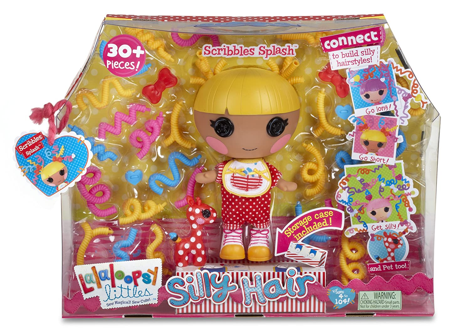 Lalaloopsy Silly Hair Littles Littles Silly Hair Doll