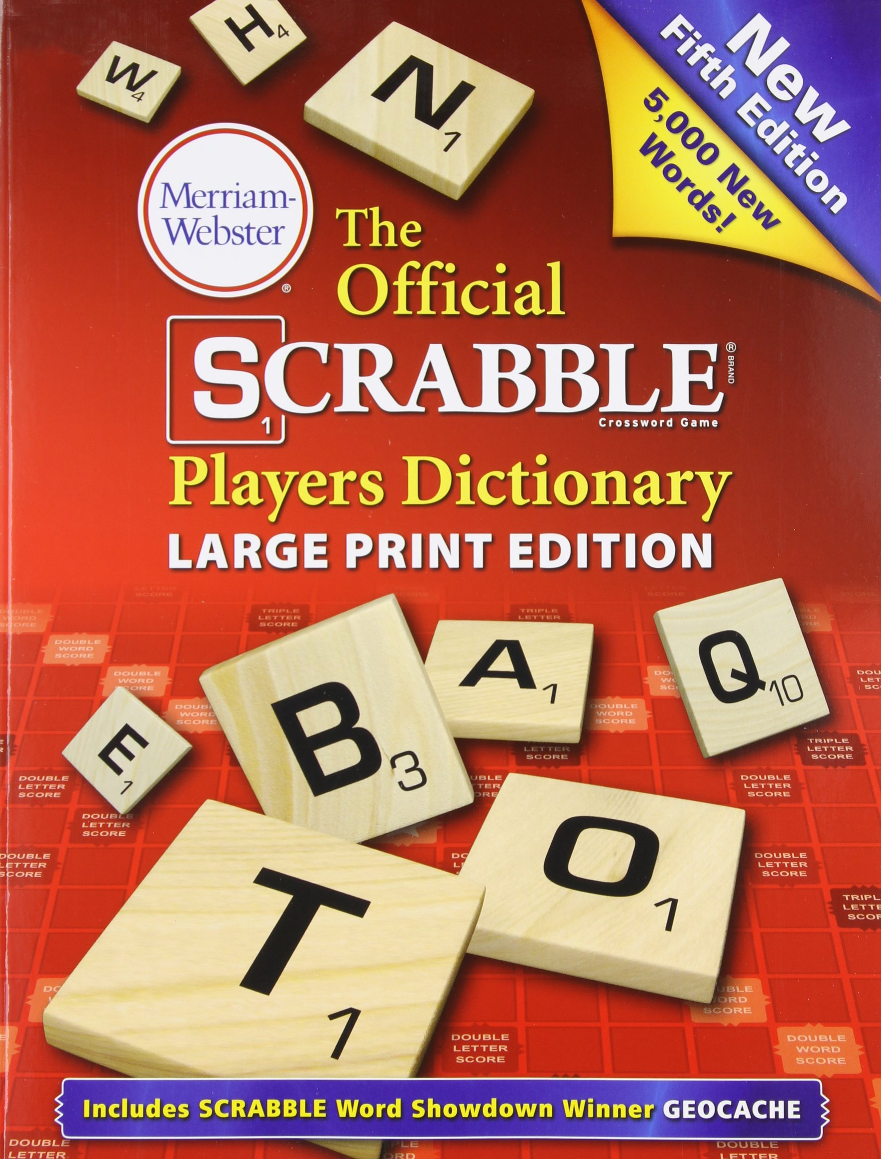 The Official Scrabble Players Dictionary Large Print Edition