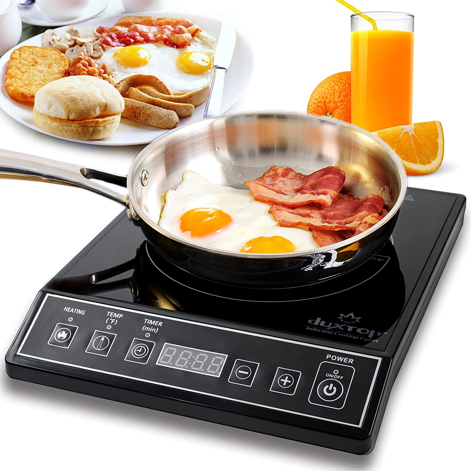 Countertop Burner 1800 Watt Portable Induction Stove Cook ware Digital ...