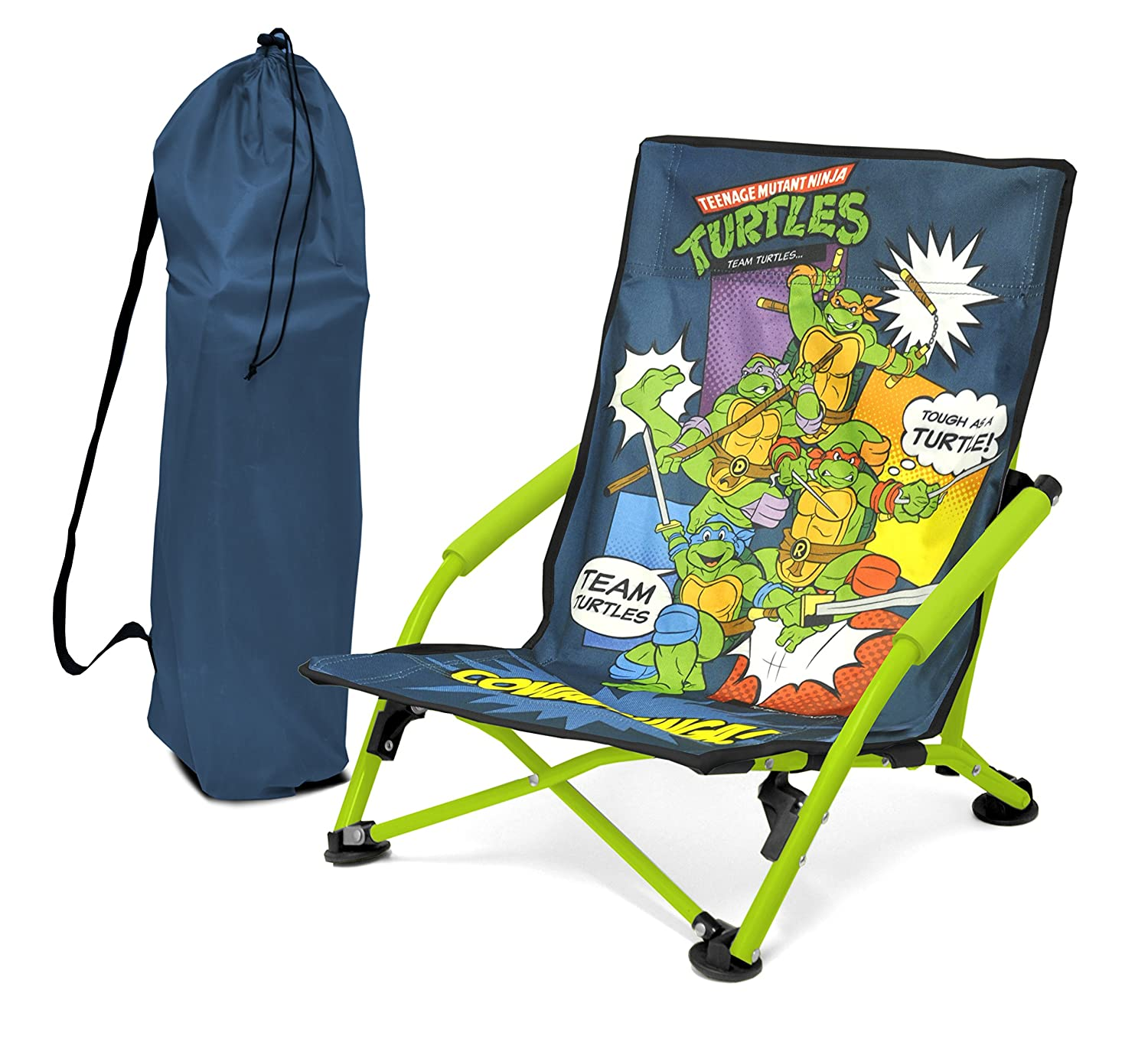 Nickelodeon Teenage Mutant Ninja Turtles Folding Lounge Chair сандалии mjus 809003 101 0001 rosa perla