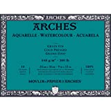 Arches Water Colour Block, 300 lb / 640GSM, Cold Pressed, 9