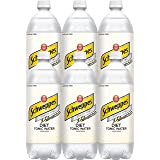 Schweppes Diet Tonic Water, 33.8 Fl Oz (Pack of 6)