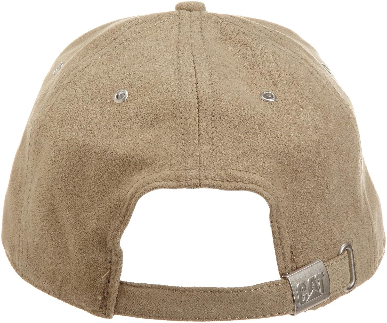 Caterpillar Men's Trademark Microsuede Cap, Navy, One Size at Amazon Men's Clothing store