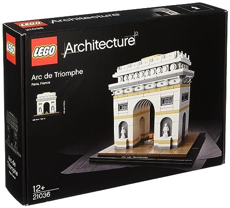LEGO - 21036 - Lego Architecture - Jeu de Construction - L'Arc de Triomphe