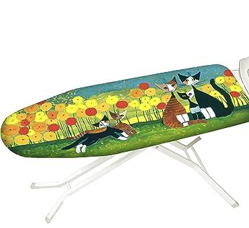 Polyester Bügeltischbezug Bügelbrettbezug Bezug Bügelbrett 140*50cm