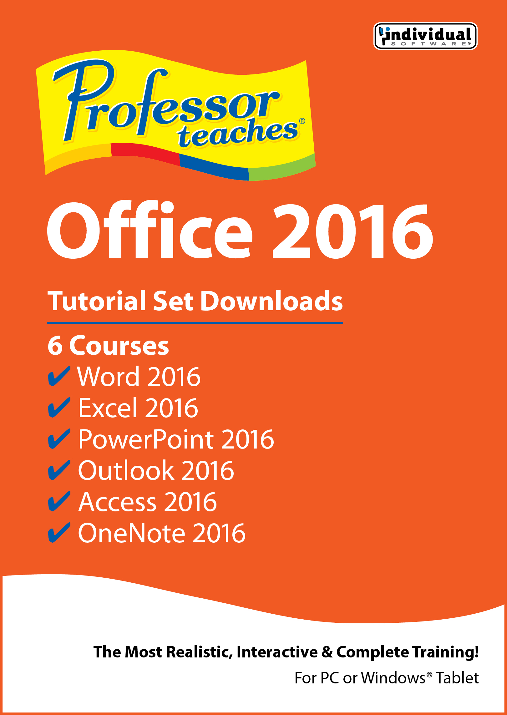 Individual professor teaches office 2017 free download