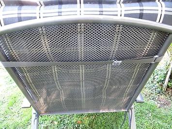 runder polyrattantisch 1m durchmesser grau