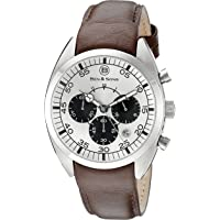 Ben and Sons Voyager GMT Chronograph Mens Watch (Silver Dial)