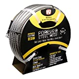 Forever Steel Hose 50' 304 Stainless Steel Garden Hose - As Seen On TV - Lightweight, Kink-Free, and Stronger Than Ever, Durable and Easy to Use (Color: Stainless Steel, Tamaño: 50' Foot)