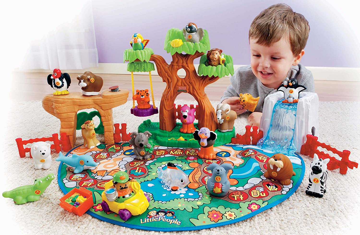 Little People A To Z Learning Zoo Playset Fisher Price Ebay