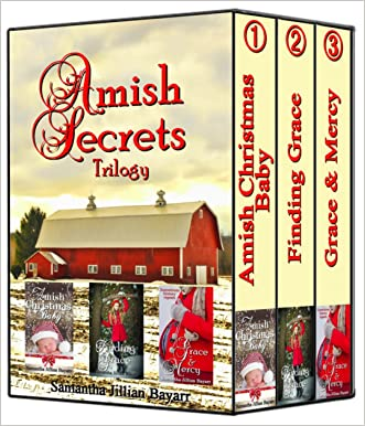 Amish Secrets: Amish Christian Christmas Romance Collection: Amish Christmas Baby 3 Book  BOXED SET