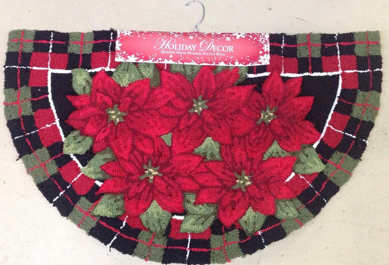 Poinsettia Floor Mats And Rugs Christmas Wikii