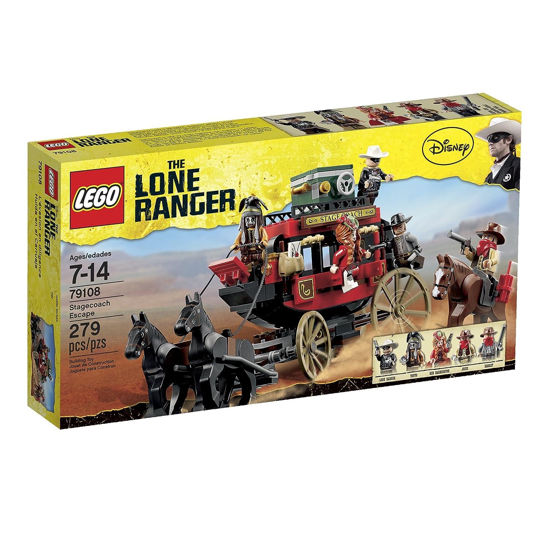 LEGO Lone Ranger 79108 Stagecoach Escape LEGO Lone Ranger (japan import) günstig