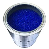 5 Pounds of Industry Standard 3-5 mm Large Blue Beaded Indicating Silica Gel Desiccants and Dehumidifier, Air-Tight Can for Storage - RECHARGEABLE