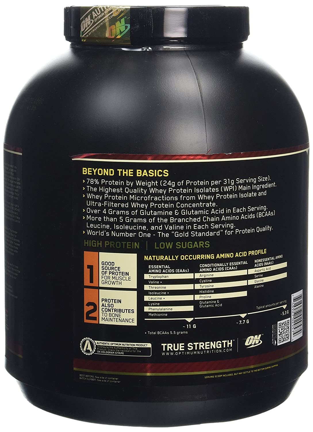 ON Whey Gold Standard - 5 lb Banana Cream