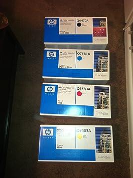 Genuine HP Toner Cartridge Combo 3800 SERIES