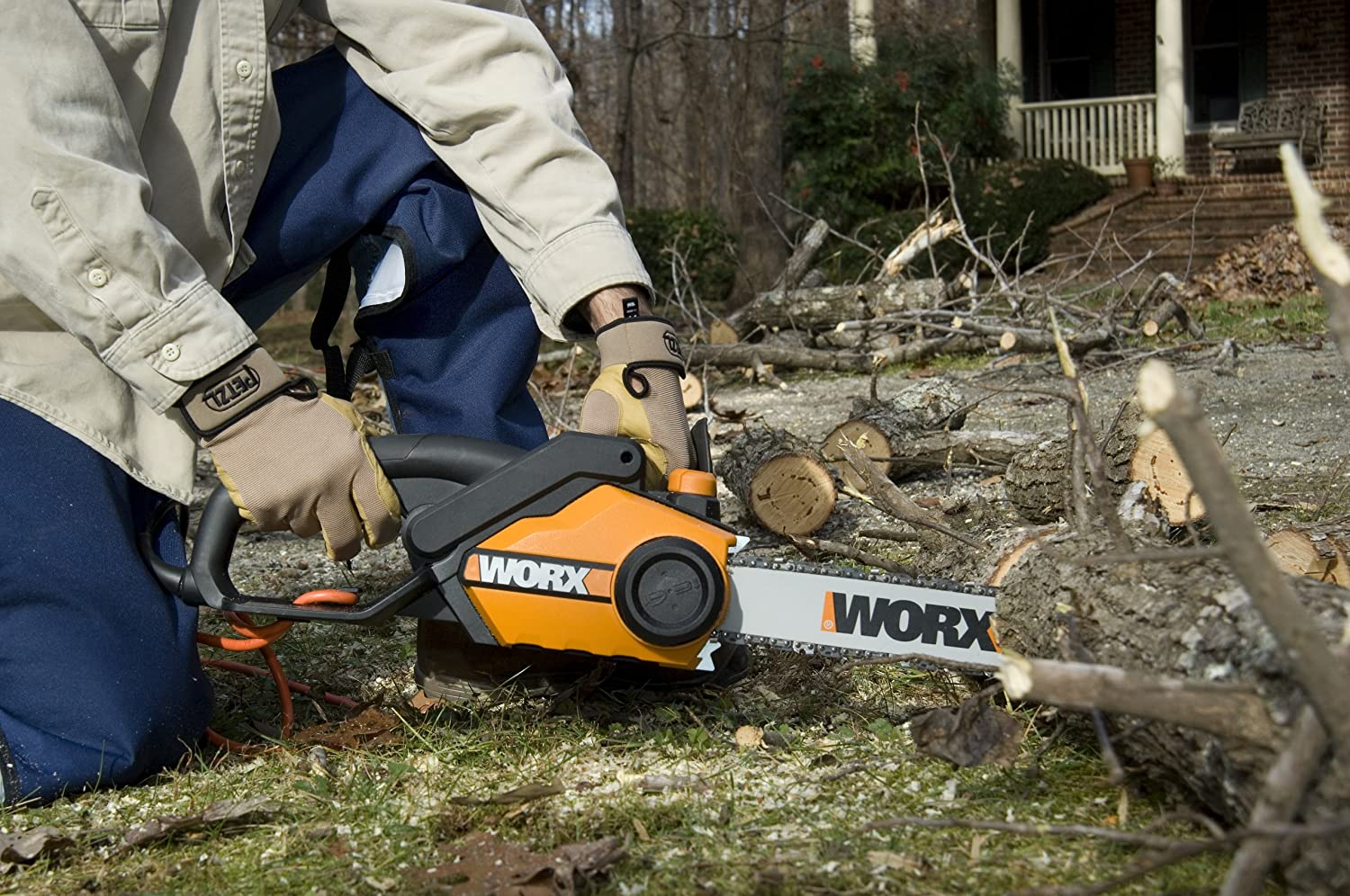 WORX WG303.1 Electric Chainsaw Review