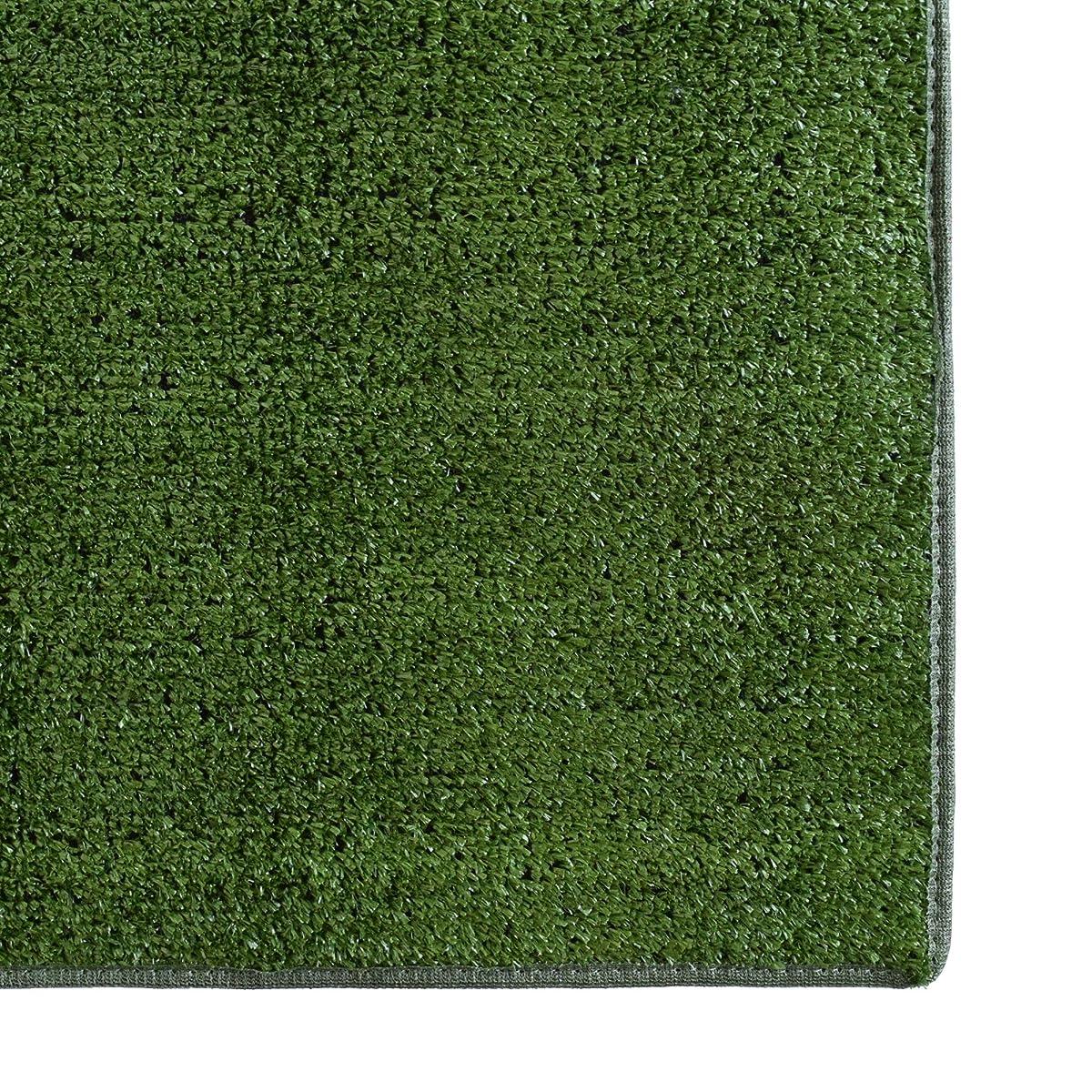 ICustomRug Outdoor Turf Rug In Green Artificial Grass In