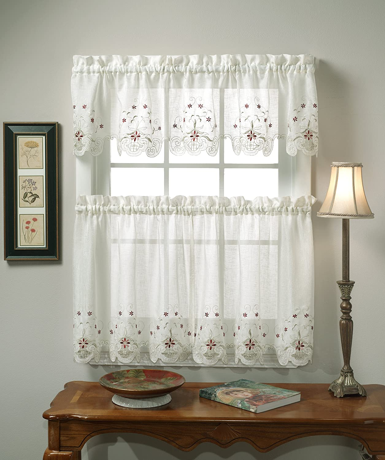 Embroidery Valance