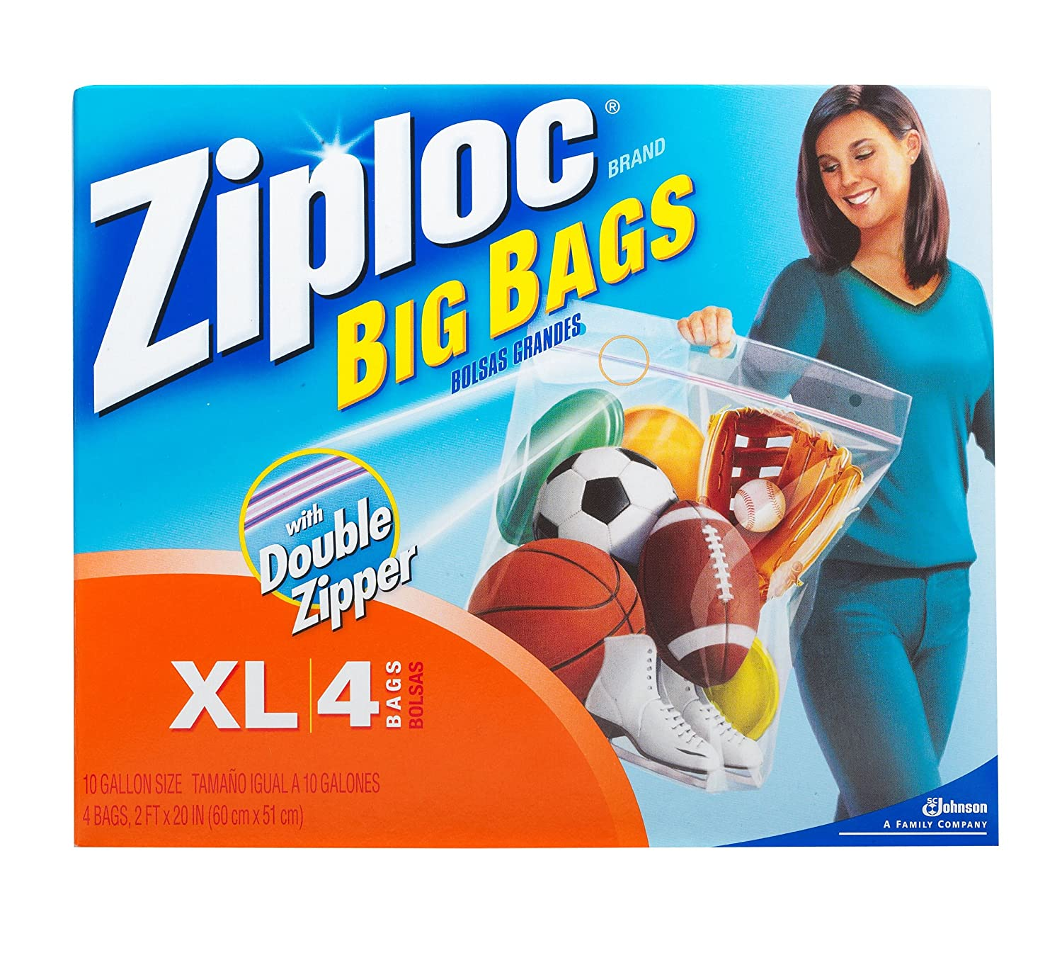 Ziploc Big Bag Double Zipper