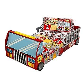 KidKraft 76031 - Lettino Camion dei Pompieri