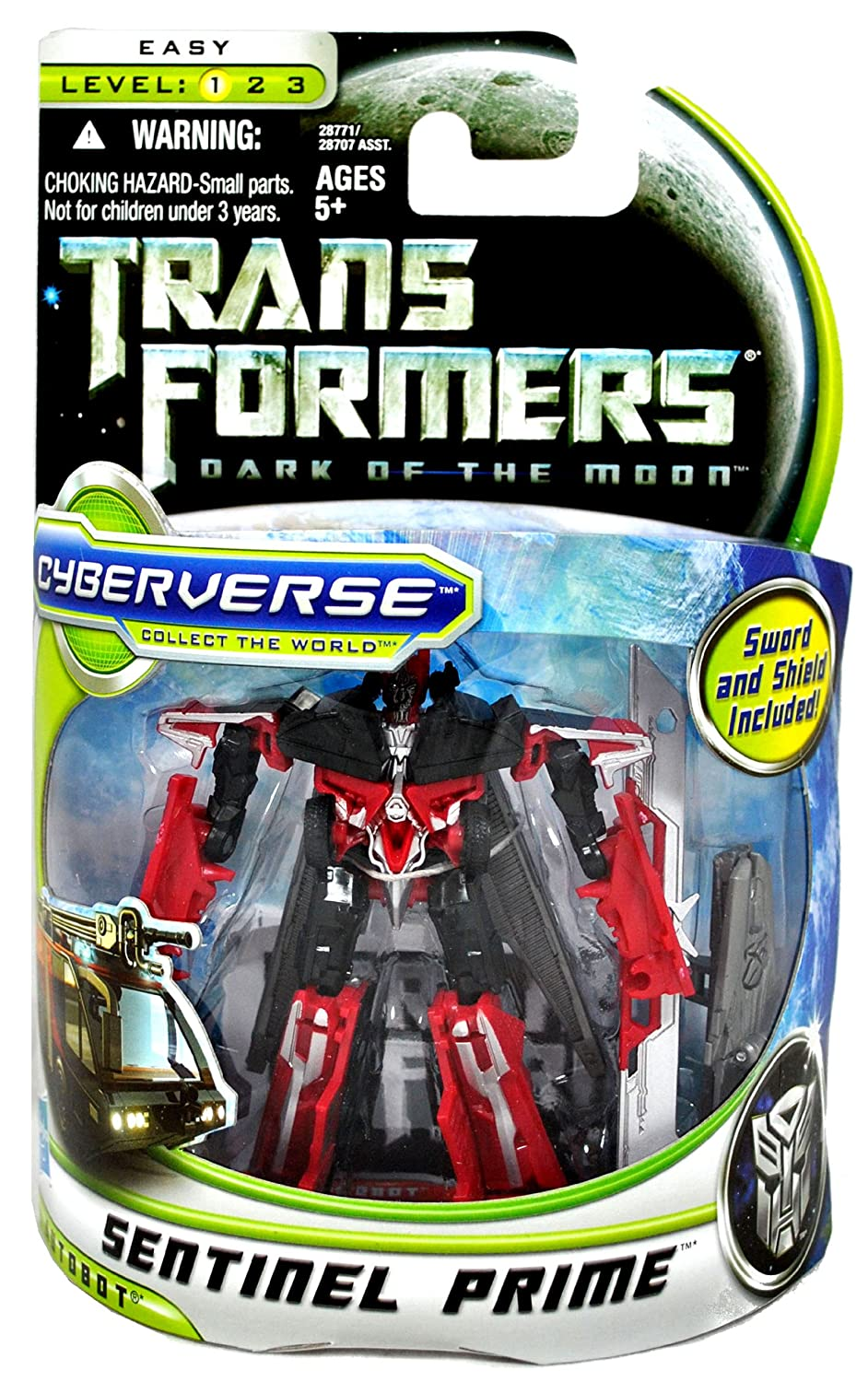 TRANSFORMERS – Commander Sentinel Prime – Autobot – Dark Of The Moon (DOTM) Cyberverse – Level 1 – Hasbro 28771 günstig online kaufen