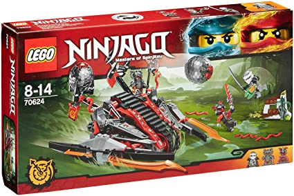 LEGO - 70624 - NINJAGO - Jeu de Construction - La catapulte Vermillion