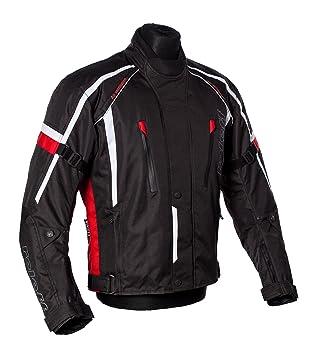 Roleff Racewear 150427 Veste Moto Ancône, Rouge, Taille XXXL