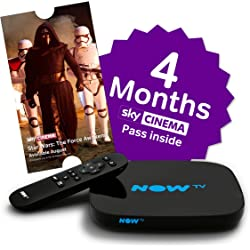 NOW TV NTVSBM4 Smart Box with 4 Month Sky Cinema Pass