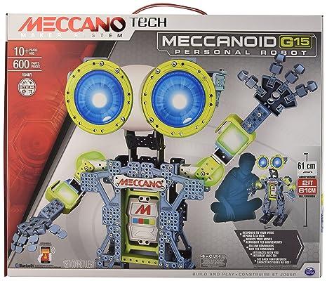 Meccano - 6024907 - Jeu de Construction - Meccanoid G15 Meccano Tech