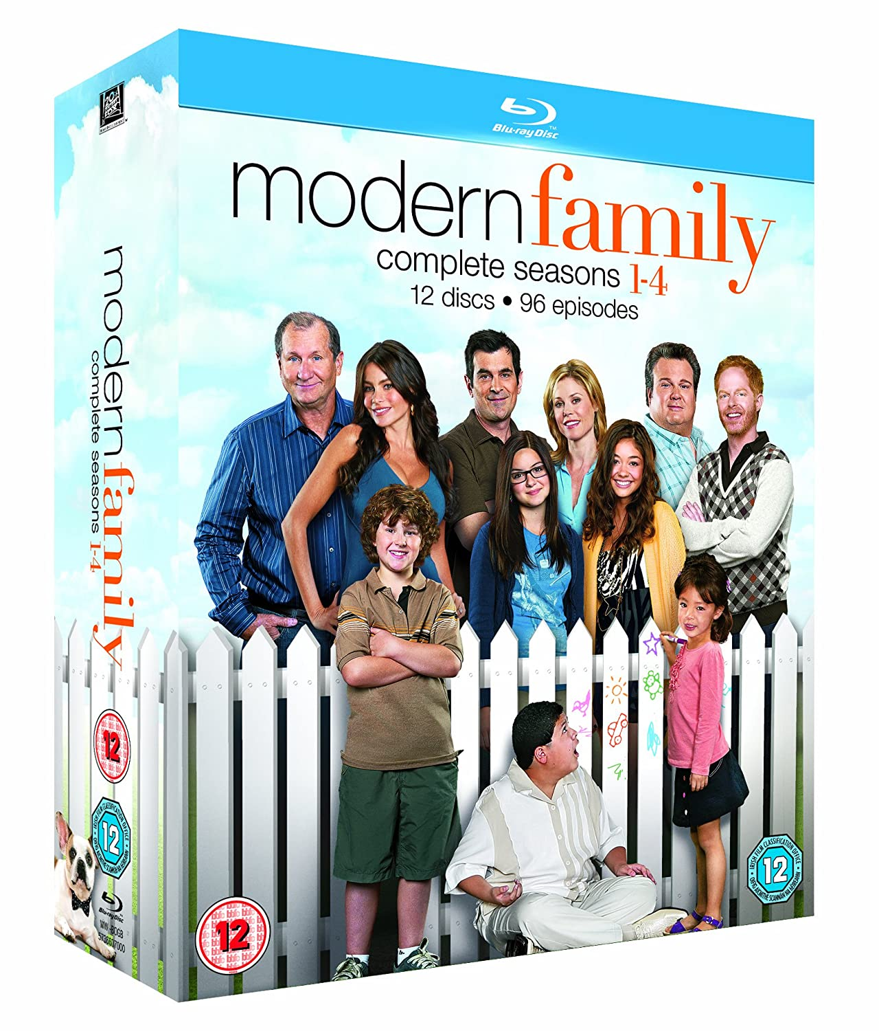 tv series modern family seasons 1 4 region b ebay