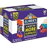 Elmer's Extra Strength School Glue Sticks, Washable, 6 Gram, 30 Count (Color: Extra Strength, Tamaño: 30 Count)