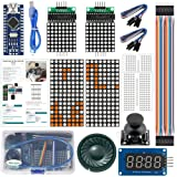 ideaspark Arduino Kits Game for Tetris and Snake with Arduino Nano V3.0 Sensor Modules Kits Compatible with Arduino IDE for Arduino UNO R3 MEGA 2560(E