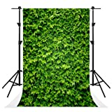 Kate 6.5x10ft Spring Photography Backdrops Green Leaf Lawn Photo Backgrounds for Wedding Backdrop Shooting (Color: 1166, Tamaño: 6.5x10ft)