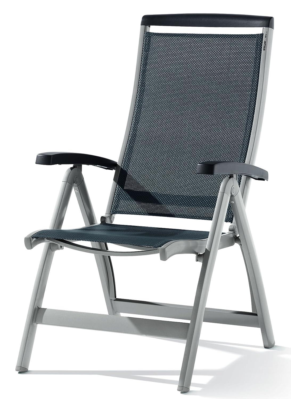Sieger 937/A Klappsessel Royal, Aluminium und Textilux-Gewebe, graphit-grau günstig kaufen