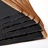 Noico Black 80 Mil 36 Sq Ft Car Sound Deadening, butyl automotive deadener restoration mat and Noise dampening insulation